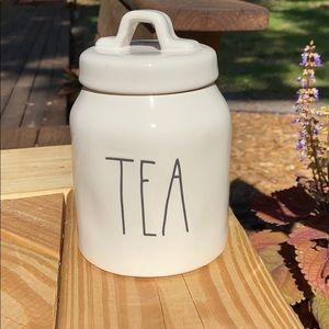 New Rae Dunn TEA Canister